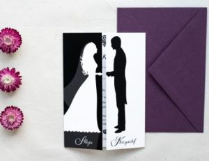 unikalne zaproszenie na ślub